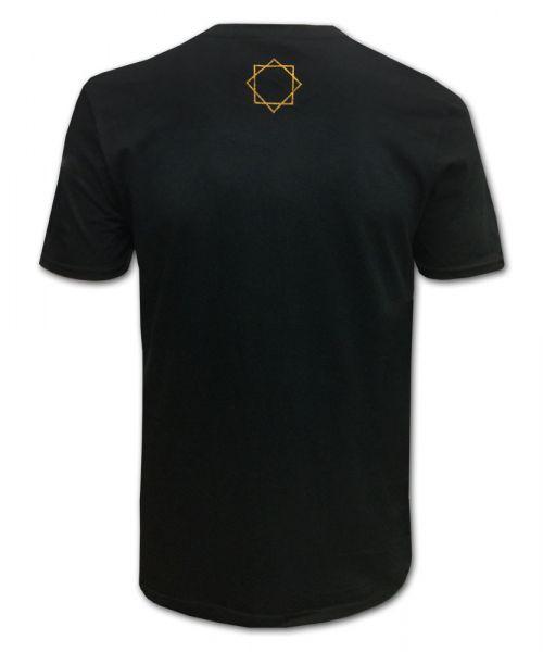 Gold Text T-shirt