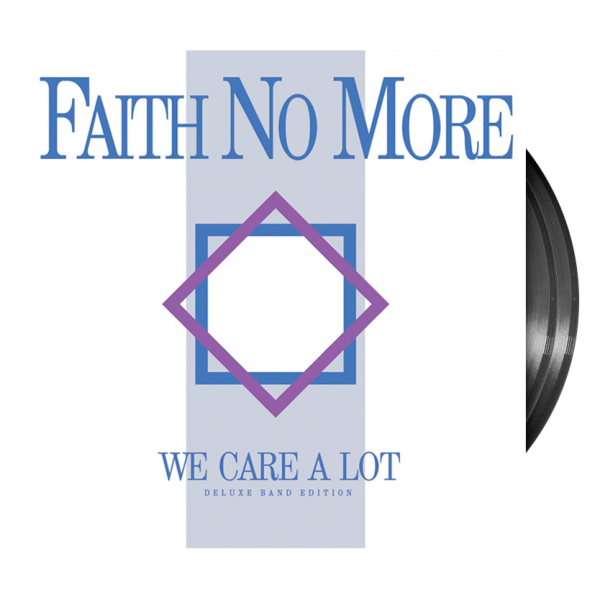 Faith No More We Care A Lot Vinyl LP - BLACK